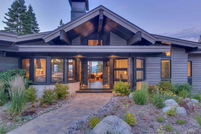 19040 Glades Pl Truckee CA-small-00 Front Exterior Sunset 2-666x444-72dpi