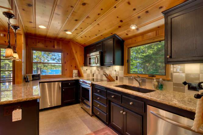 8193 Meeks Bay Ave Tahoma CA-small-032-30-Guest House Kitchen-666x444-72dpi