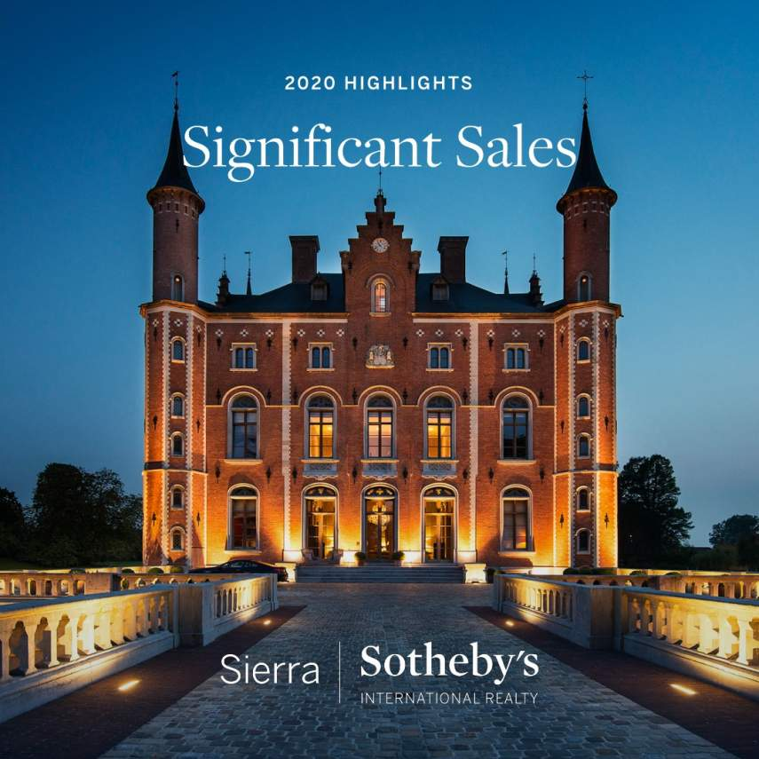 Significant Sales 2020