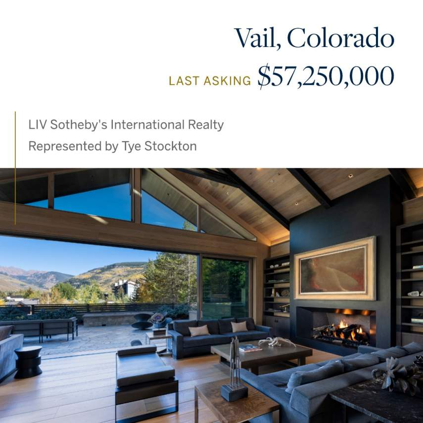 Vail, CO: $57,250,000