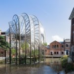 Greenhouse commissioned by Bombay Saphire Distillery