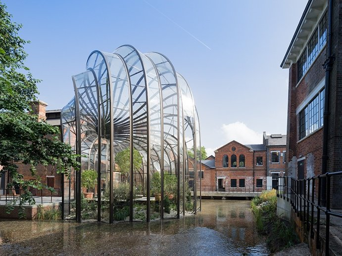 Global Greenhouses: This Greenhouse commissioned by Bombay Saphire Distillery
